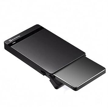 MantisTek USB 3.0 Caja para Disco Duro Externo SSD SATA HDD SSD Externa HDD 2.5, Carcasa Salcar para Hard Drive Disk,No Requiere Herramientas, Color ...
