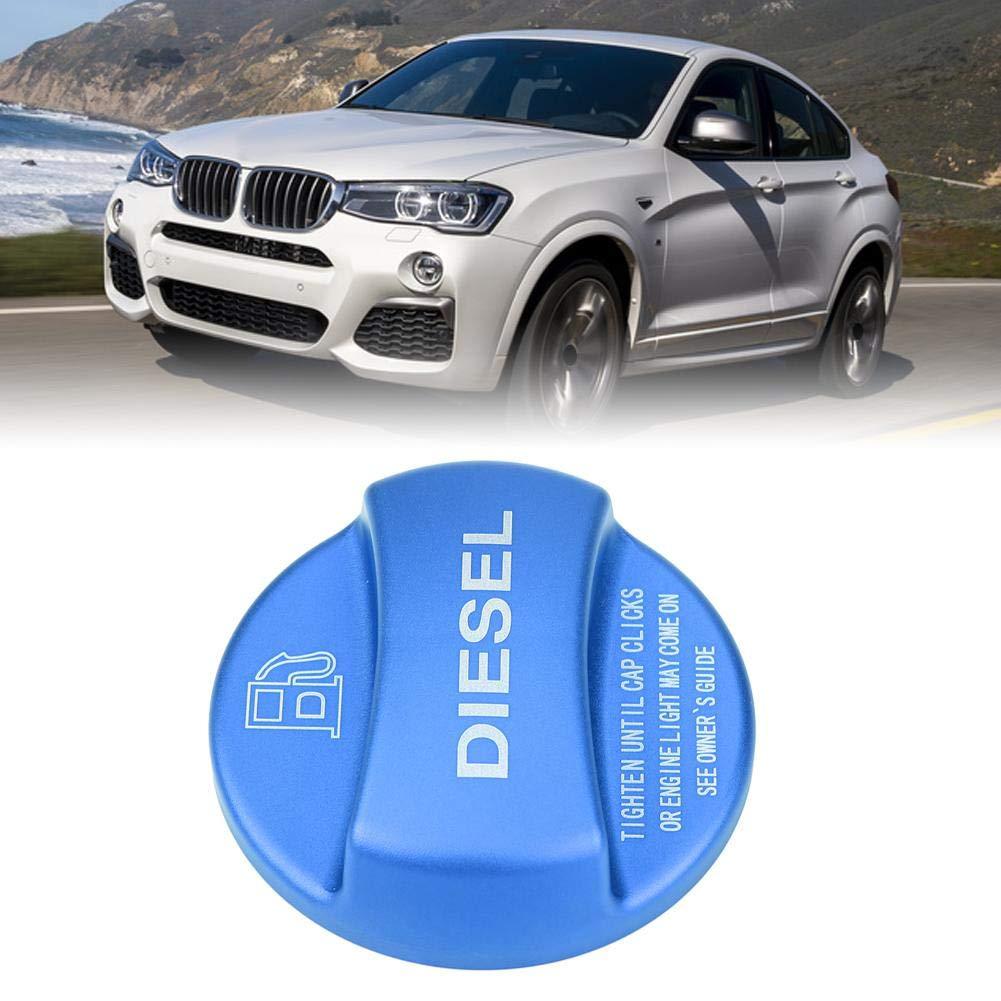 azul y rojo Color : Red 1 PC de Car Diesel Decoraci/ón del tanque de combustible Tapa de la tapa Tap/ón universal para BMW Tapa de combustible