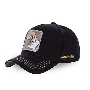 Capslab Gorras Looney Tunes Bugs Bunny Black Adjustable: Amazon.es: Ropa y accesorios