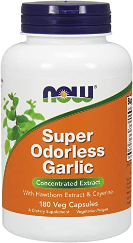 NOW Supplements Garlic Supplement