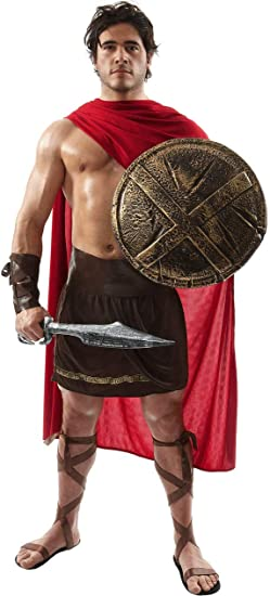 Disfraz de Guerrero Espartano Gladiador Romano Soldado Historia ...