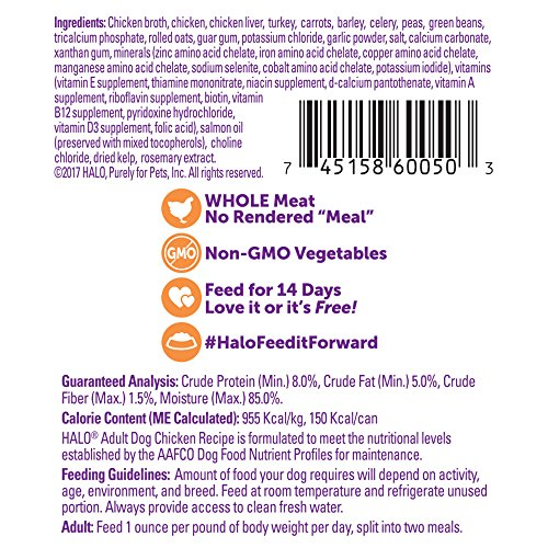Halo Dog Food Made In China
