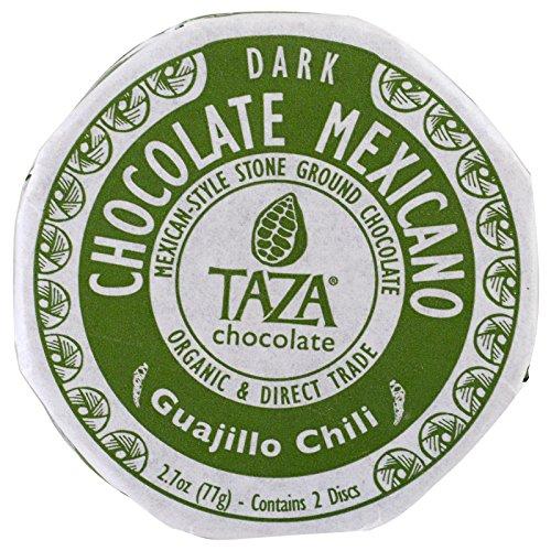 Taza Chocolate, Chocolate Mexicano, Guajillo Chili, 2 Discs, Pack of 3