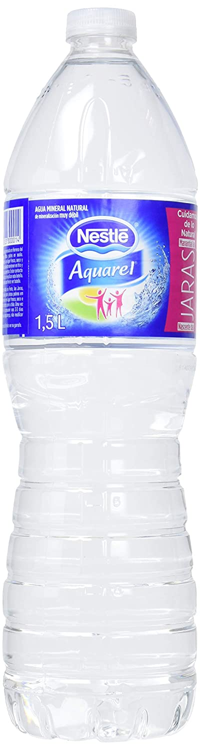 Nestlé Aquarel Agua Mineral Natural - 6 Botellas: Amazon.es: Amazon Pantry