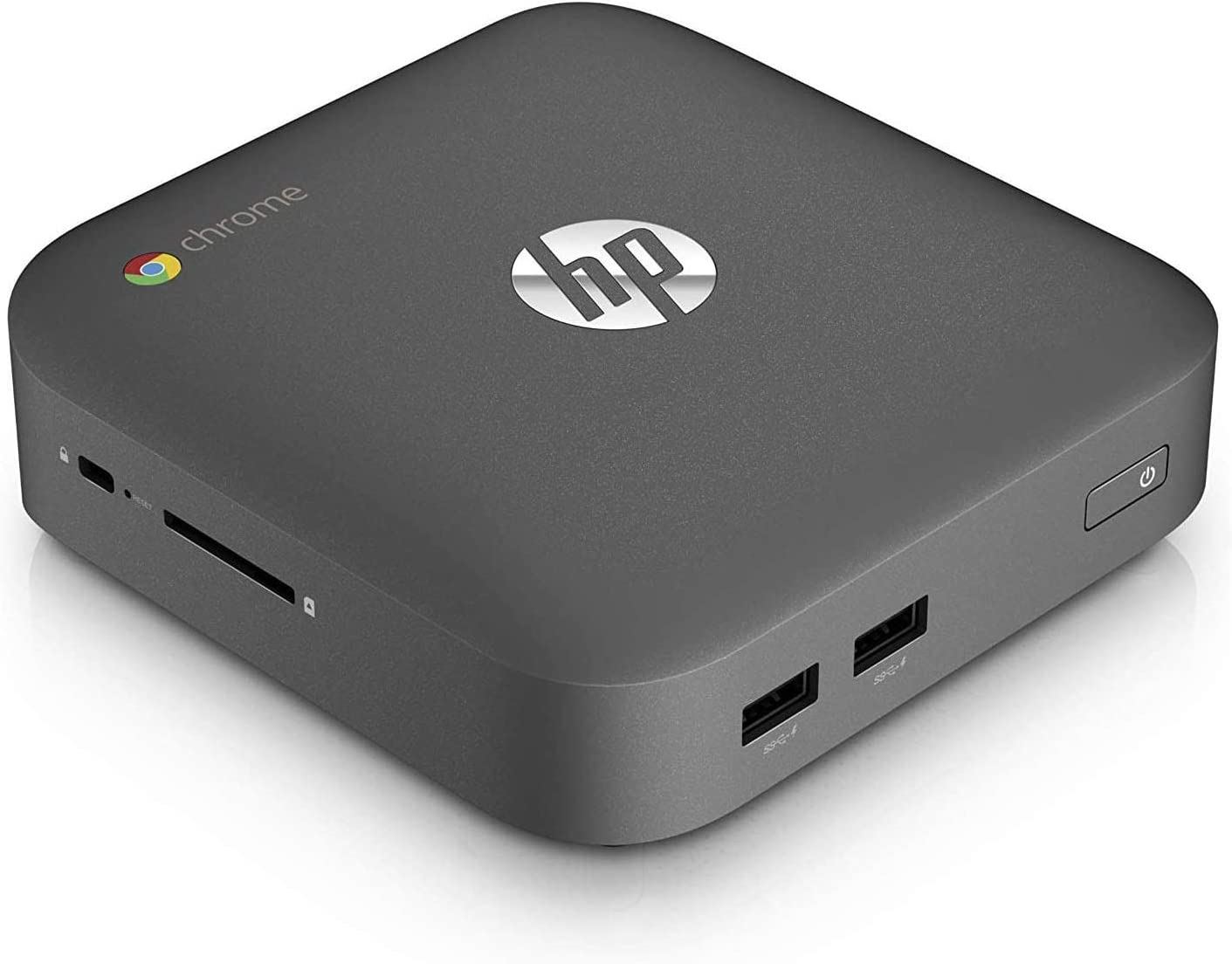 HP J5N50UT Chromebox Intel Celeron 2955U 1.40 GHz 4GB RAM 16GB SSD Mini PC Desktop Computer (Renewed)