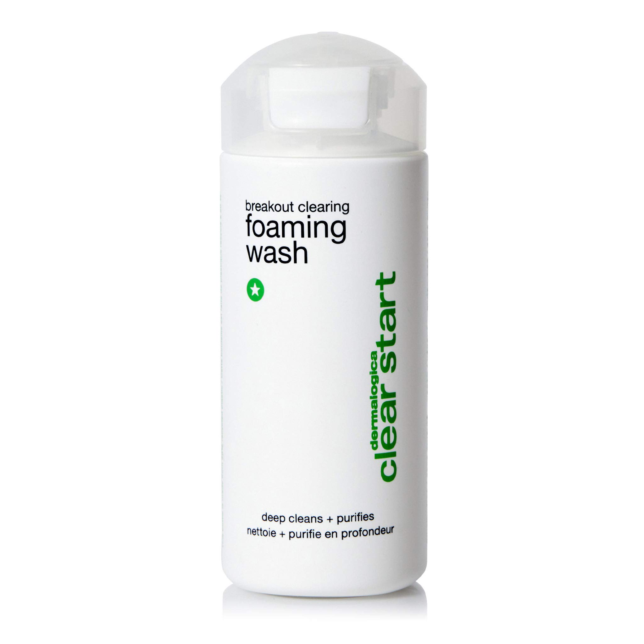 Dermalogica Breakout Clearing Foaming Wash - Acne Face Wash with Salicylic Acid & Tea Tree Oil - Dive Into Pores to Clear, Soothe, & Energize