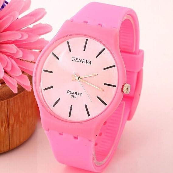 Belleza regalo 2015 nueva moda niña estudiantes Jelly reloj mujer reloj Casual Hot Sale mujer reloj de pulsera de cuarzo relojes Feminino envío gratuito: ...