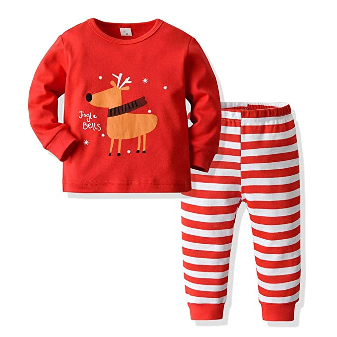 ZOREFINE 🤠 Traje Infantil Pijama Unisex Navideño Servicio a ...