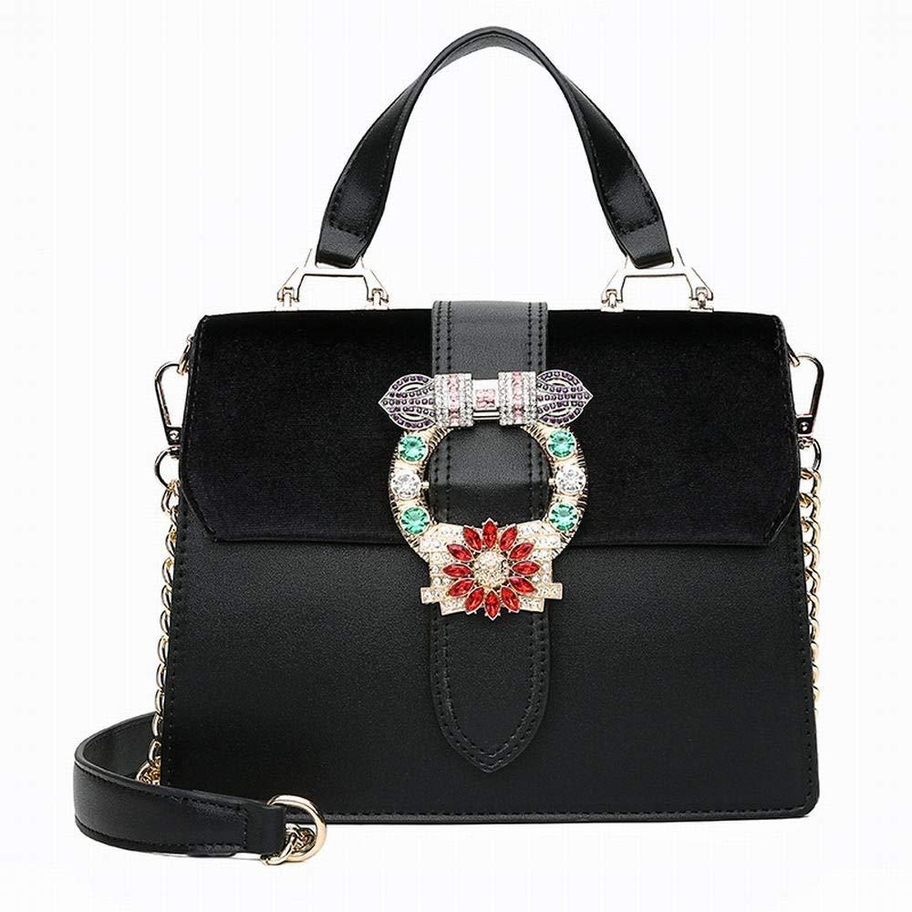 394543600055e MAGAI Damen Umh auml ngetasche Umh auml ngetasche Handtasche Kette  Weibliche Weibliche Weibliche Tasche (Farbe schwarz) B07PCPDR8K  Umhngetaschen Elegant ...