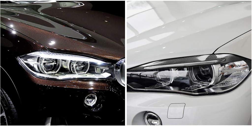 Almencla Rrx-dm1-005 1 Paire De Couvre-paupi/ères Phares pour La S/érie BMW E60 5 2004-2010 62x7.6cm
