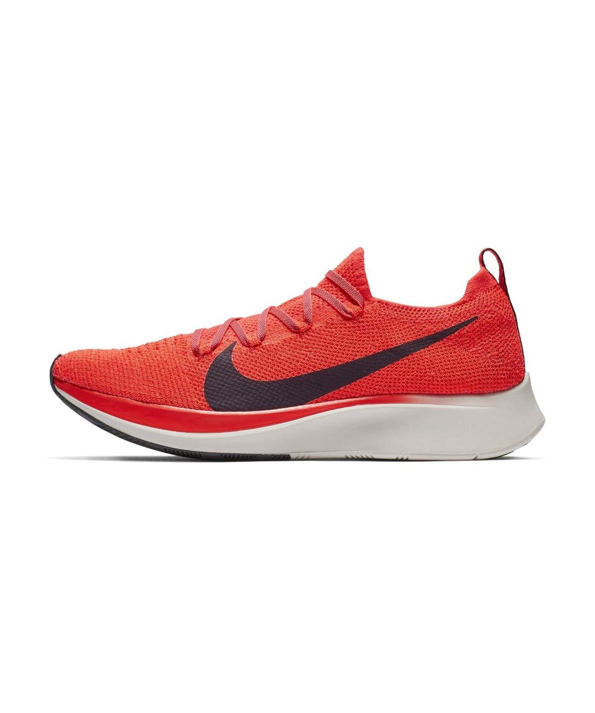 Nike Zoom Fly Flyknit Men's Running Shoe Bright Crimson/Black-Total Crimson Size 7.5 by Nike (Image #2)