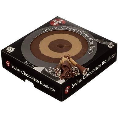 Gysi AG Roulette de Chocolate Nougat Gianduja 500gr para Girolle Cortadora de Queso, con paquete