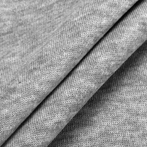 Men's Sport Sweater Coat,Hemlock Men's Winter Jacket Hooded Tops Cotton Sweatshirt Outwear (M, Grey)