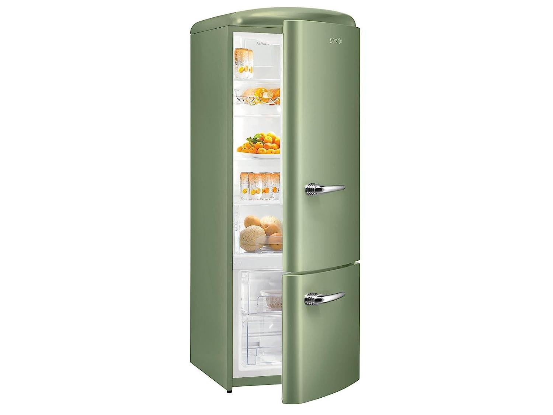 Gorenje Kühlschrank Rk 61620 X : Gorenje rk ool kühl gefrierkombination olive grün retro