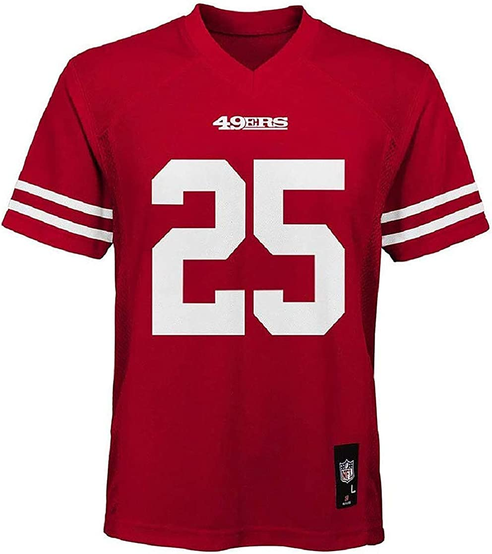 Richard Sherman San Francisco 49ers Kids 4-7 Red Home Mid-Tier Jersey