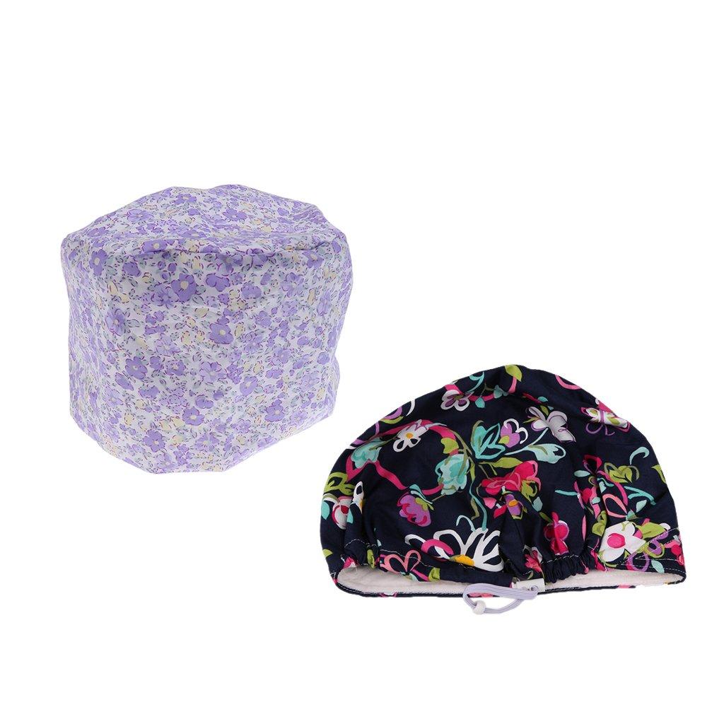 Prettyia 2 pezzi Cappellini Cappelli per Medico Infermiere