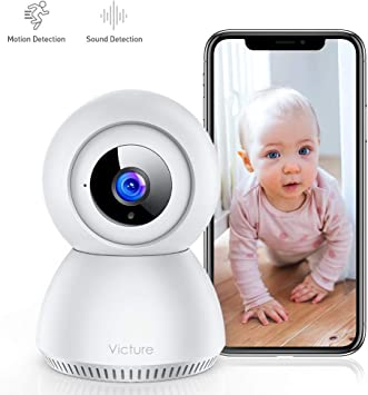 Home Security IP Surveillance Monitor with 2-Way Audio Motic53 WiFi Camera Indoor Security: Motion Detection Office IR Night Vision Free 2GB TF 860909 High Definition HD 1080p Apply for Baby Care Pets