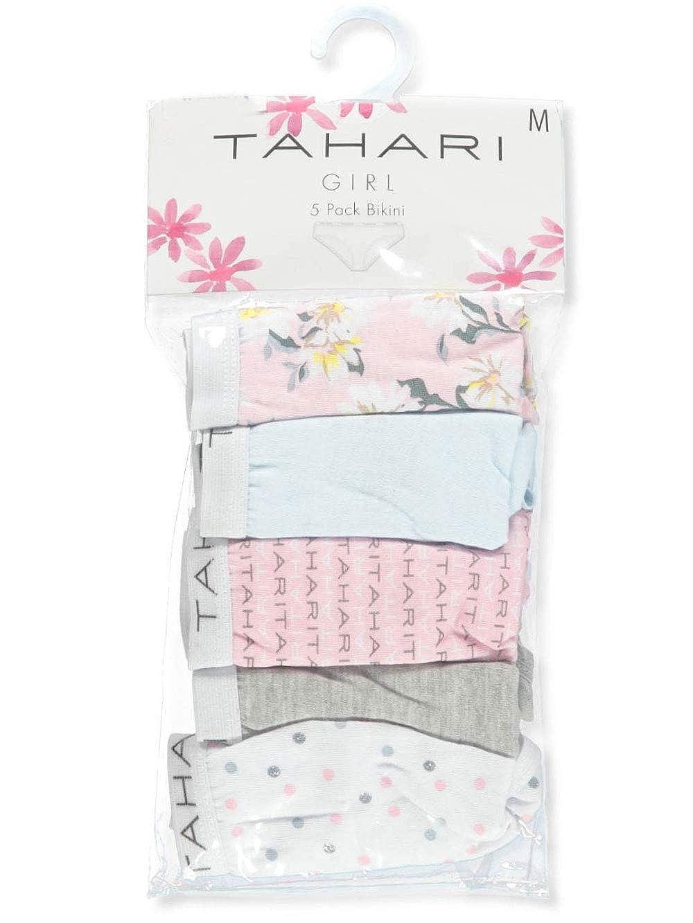 Tahari Girls 5-Pack Bikini Panties