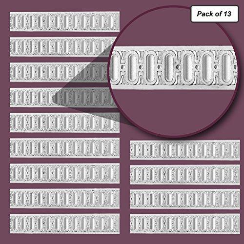 Chair Rail White Urethane 77 3/4