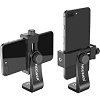 Neewer Smartphone Holder Vertical Bracket with 1/4-inch Tripod Mount - Phone Clip Tripod Adapter Compatible with iPhone…