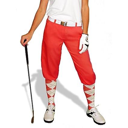 f57615181 Amazon.com   Red Golf Knickers  Womens  Par 3  - Microfiber   Golf ...