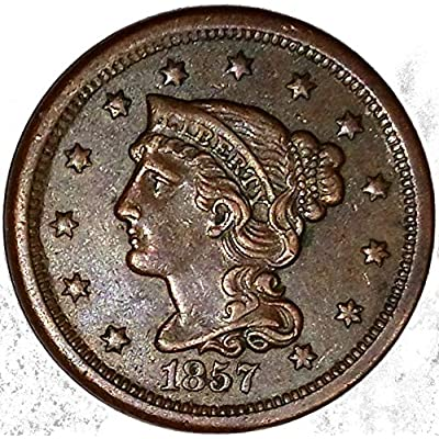 1839-1857 Braided Hair Large Cent by US Mint: Toys & Games