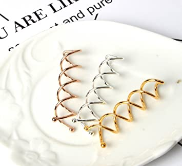 Amazon com : 12Pcs Womens Spiral Spin Screw Pin Hair Clip