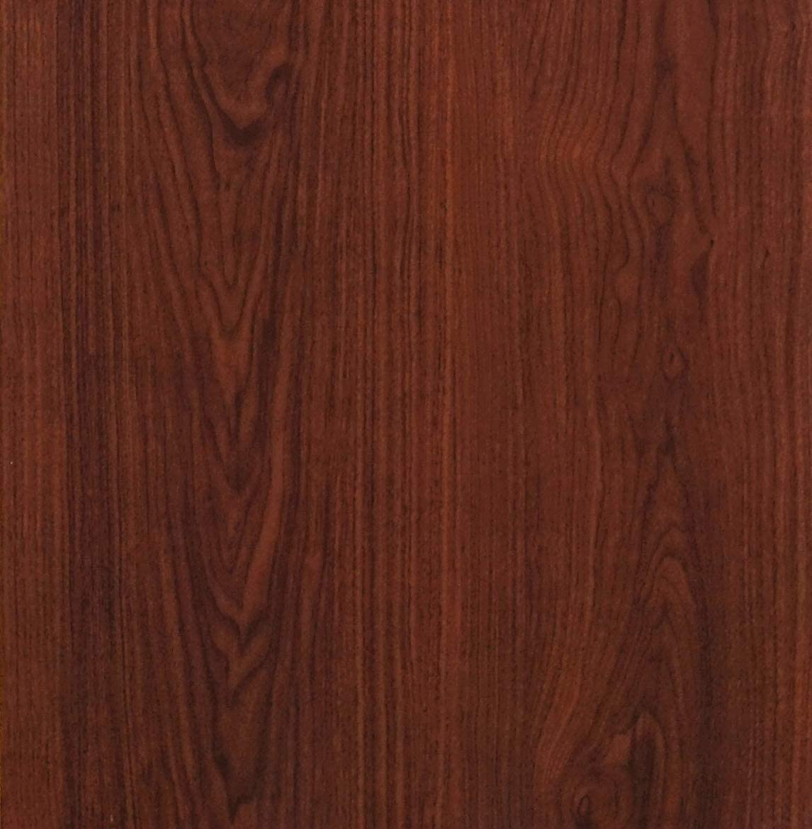 """Red Brown Wood Peel and Stick Wallpaper Wood Grain Shlef Liner Self Adhesive Film Removable Textured Wood Panel Decorative Wall Covering Faux Vinyl Shelf Drawer Liner Cabinet Countertop 78.7""""x17.7"""""""