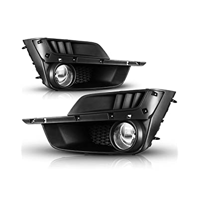 Fog Lights For 2015-2016 Subaru Impreza Fog Light Assembly 2PCS OEM Replacement Fog Lamps AUTOWIKI (Switch and Wiring Kit Included): Automotive