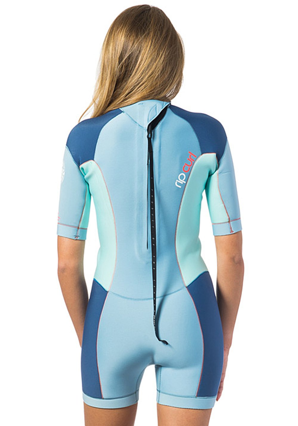 4351e97ad7 Amazon.com   Rip Curl Dawn Patrol 2mm Back Zip Spring Shorty Wetsuit Blue  ICE - Easy Stretch - Ultralite Neoprene. 2mm   Sports   Outdoors