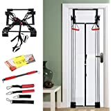 Apelila Resistance Power Home Door Gym Full Body Workout System,Door Exercise Fitness Kits