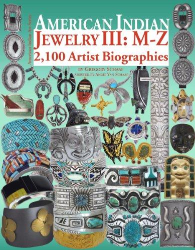 (American Indian Jewelry III: M-Z (American Indian Art) )