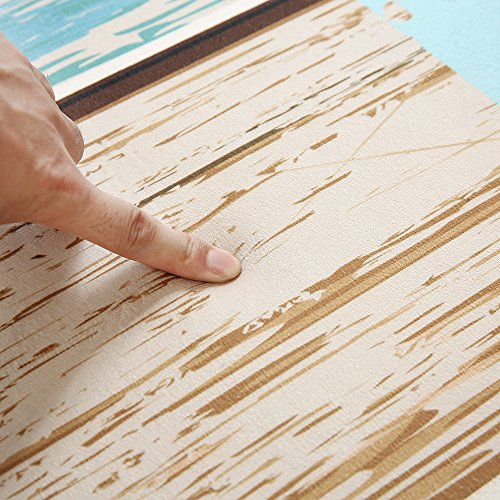 LEEVAN Modern Non-Slip Backing Machine Washable Round Area Rug Foam Mat Living Room Bedroom Study Super Soft Carpet Floor Mat Home Decor 3-Feet Diameter, Vintage Retro Nautical Anchor