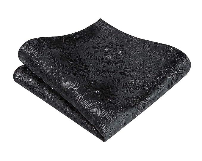 Amazon.com: HISDERN - Pañuelo cuadrado de bolsillo para ...