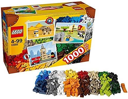 LEGO Young Builders Bricks /& More Set #10682 Creative Suitcase