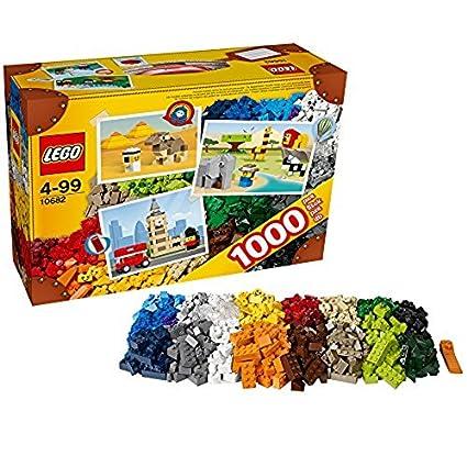Buy Lego Bricks and More 10682 Creative Suitcase, Multi Color ...