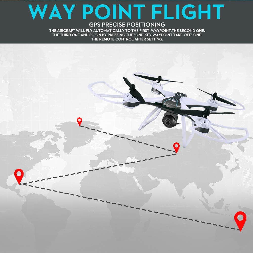 Bovake FX 8G GPS 6 Axes Axes Axes drone with, 1080p Wide Angle WiFi Camera Quadcopter B07GS6D4Y6 Parent   Prezzo Moderato    Ufficiale    Shopping Online    Vogue  944f52