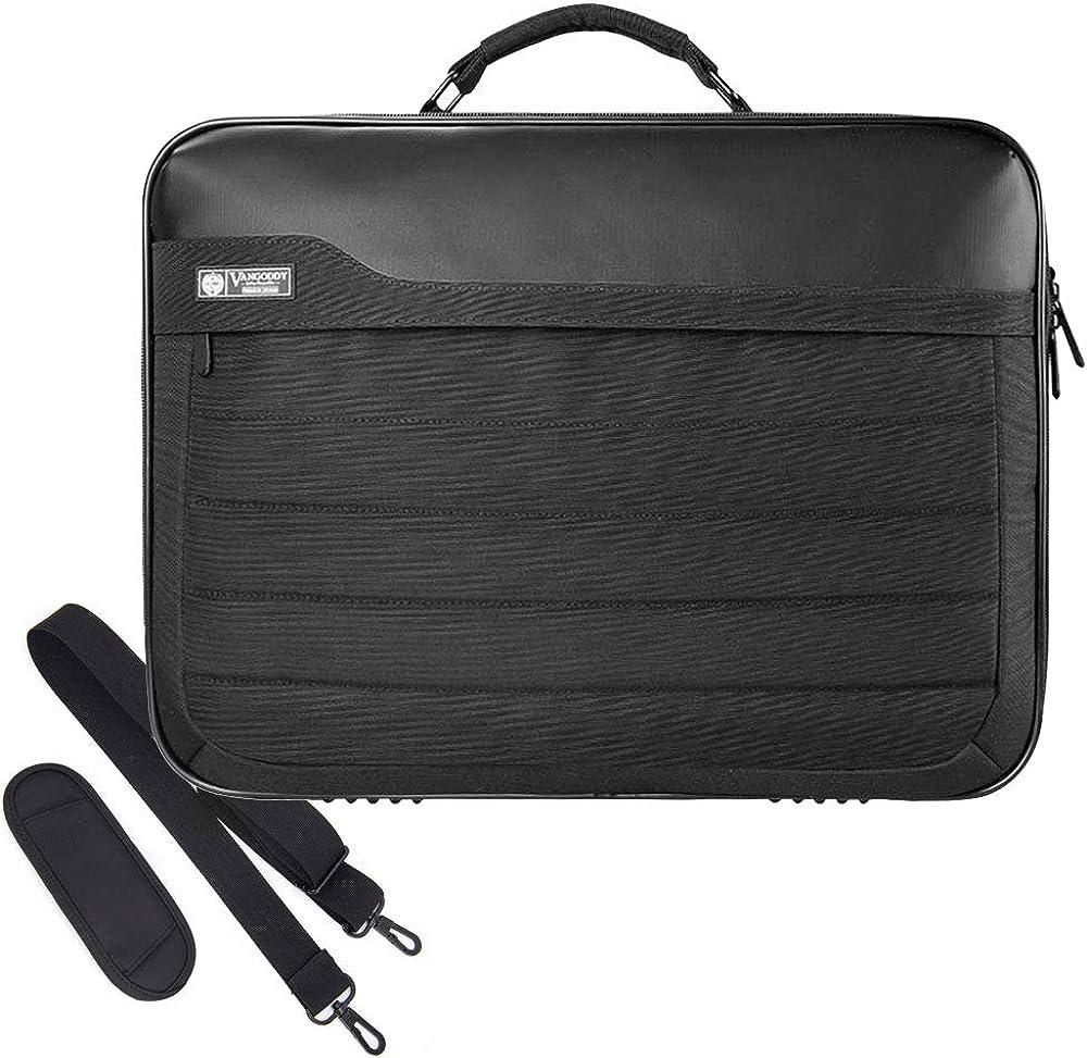 JuaoHuan Blackbear Laptop Shoulder Messenger Bag Case Briefcase Sleeve for 13 Inch 14 Inch 15.6 Inch Laptop Case 14 Inch