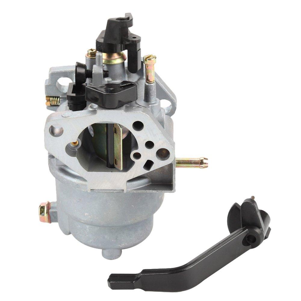 Butom 0J58620157 Carburetor with Air Filter Insulator Oil Sensor for Generac GP5500 GP6500 GP6500E GP7500E 8125W Jingke Huayi Kinzo Ruixing Portable Generator by Butom (Image #2)
