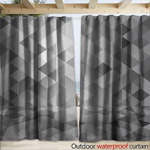 Cortinas impermeables para puerta corredera, diseño moderno ...