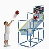 ALINILA 4 Balls Portable Basketball Hoop Indoor with Basketball Net Goal for Kids, Height 55in Outdoor Basketball Goal…