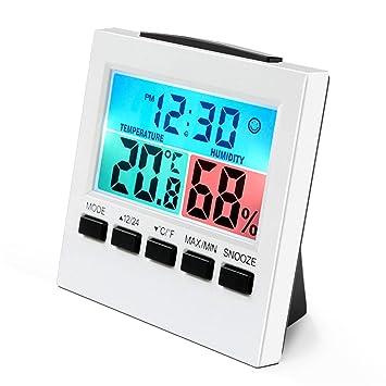 Termómetro Higrómetro, wrcibo Interior higrómetro Digital, de Control climática habitación Aire üerwachtung Medidor de