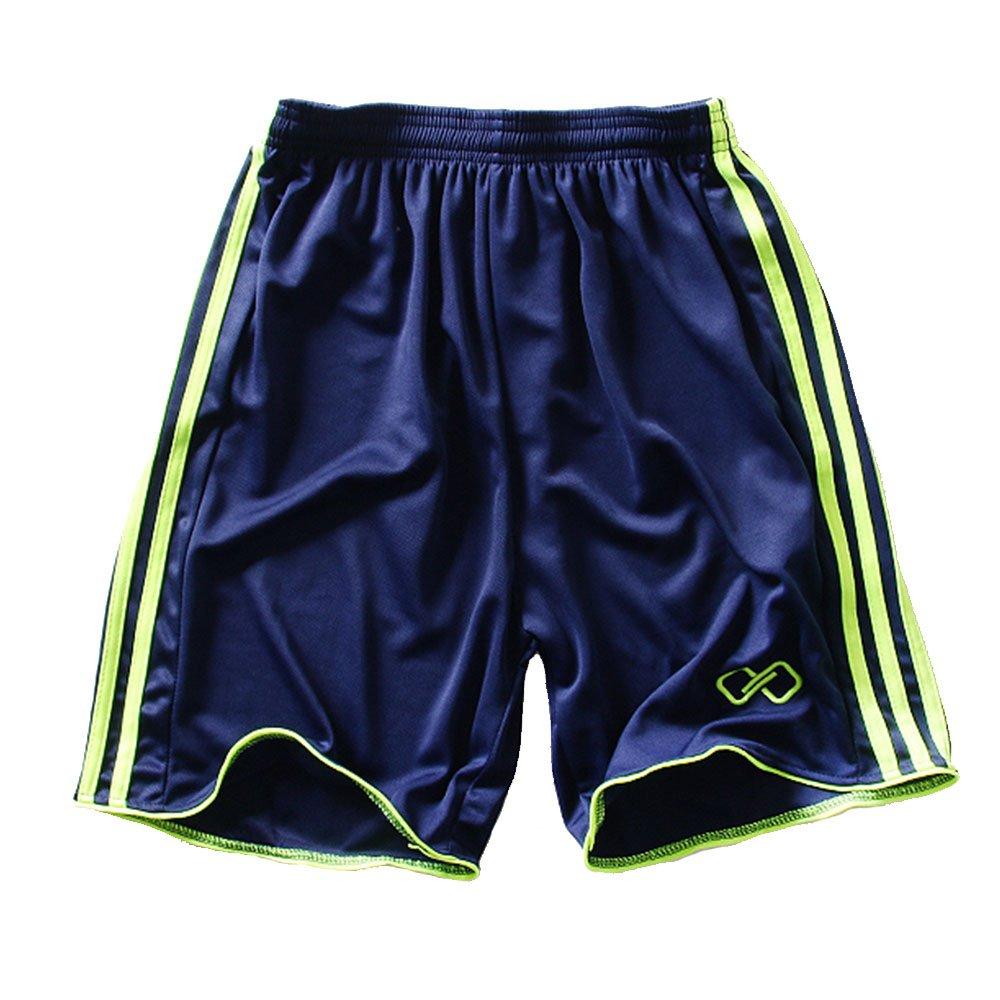 HIENAJ Mens Athletic Training Performance Shorts Elasstic Dry Fit Basketball Shorts
