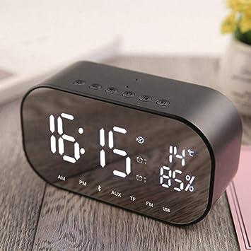 GZ Altavoz Bluetooth Inalámbrico Mini Despertador Móvil ...