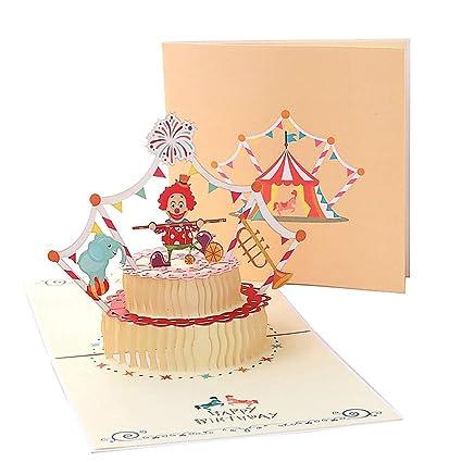 Tarjetas de felicitación Cumpleaños los niños,Deesos Tarjeta ...