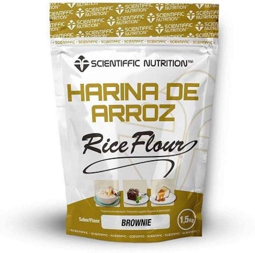 Harina De Arroz Gourmet 1.5 Kgs - Scientiffic Nutrition, BROWNIE ...