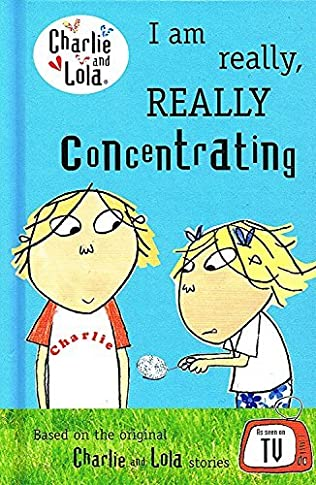 book cover of I Am Really, Really Concentrating