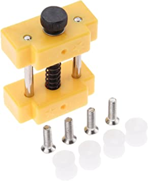 Mini Carving Bench Clamp Drill Press Vice Hand Micro Clip Flat DIY Tools USA