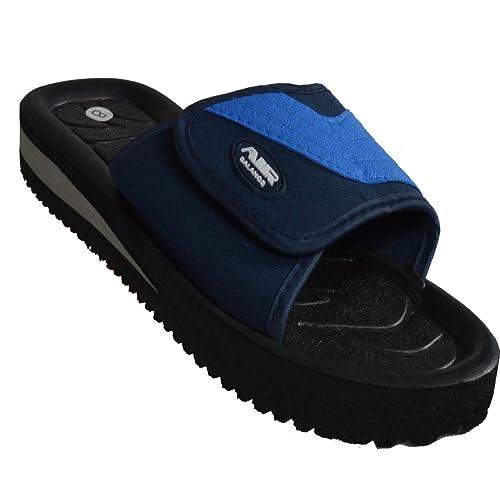 Men/'s Sandals Flip Flop AIR Slip On Sport Slide Adjustable Shower Slippers Beach