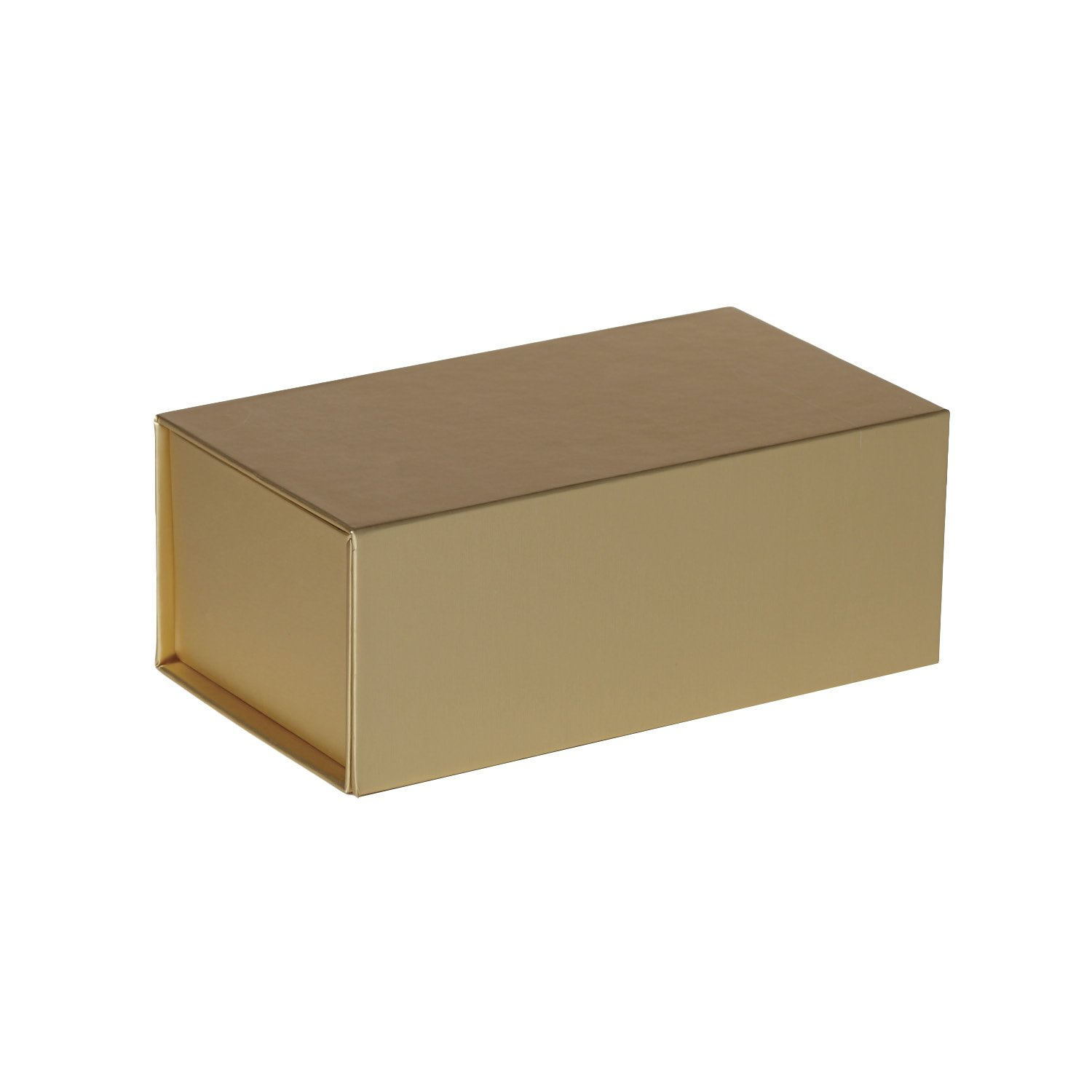 Jillson Roberts 36-Count Medium Magnetic Closure Gift Boxes Available in 5 Colors, Metallic Gold Matte